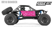 Axial RR10 Bomber Body Graphic Wrap Skin- Tribal Pink