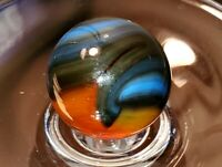 Vintage Akro, Vitro, Jabo Hybrid Transparent Rainbow Marbles Never Played