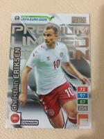 CARD PANINI ADRENALYN ROAD TO EURO 2020 PREMIUM LIMITED EDITION ERIKSEN