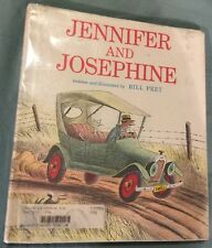 Jennifer and Josephine by Bill Peet - HC, 1967 Fourth Printing - Library Copy