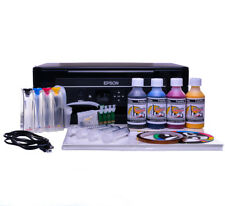 Non Oem Epson XP-342 A4 SUBLIMATION INK Printer continuous ink kits Bundle