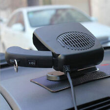 12V Portable Ceramic Heating Cooling Electric Heater Fan Car Defroster Demister