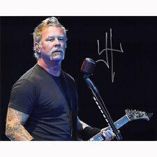 James Hetfield - Metallica (74316) Authentic Autographed 8x10 + COA