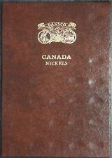 Canada Nickel Dansco Canadian Coin Album Folder NEW AND UNUSED 1922-1986