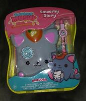 New! SMOOSHY MUSHY Smooshy Squishy Diary Grey/Gray Kaley Kitty. FREE Shipping!