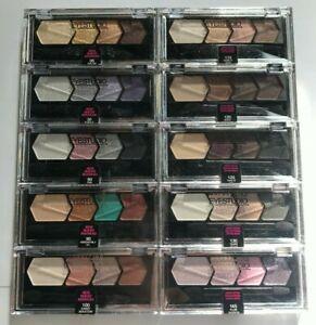 MAYBELLINE Eyestudio Color Plush Silk Eyeshadow Quad *SEALED*