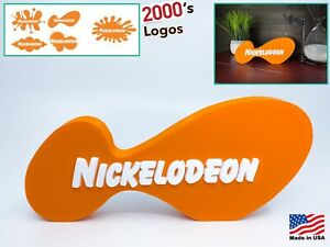 Nickelodeon Logo Decoration Sign