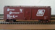 Athearn 40' SD boxcar, Seaboard Coast Line (SCL), kit# 15, rd# 184567, IMKD's