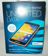 "AT&T Samsung Galaxy J2 Shine Prepaid 5"" Smartphone & Bonus Headset 16GB New"