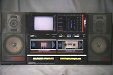 Sound Design Vintage Ghetto Blaster Boom Box With TV! Sound Design 4873