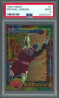 1993 Topps Finest #1 Michael Jordan Card PSA 9 (43242721)