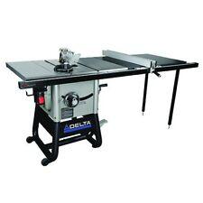 "Delta Power Tools 36-5152 10"" Left Tilt Table Saw w/ Cast Iron Wing /52"" RH Rip"