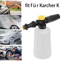 Schaumlanze Hochdruck Schaumkanone Düse Injektor mit 750ML Flasche für Karcher