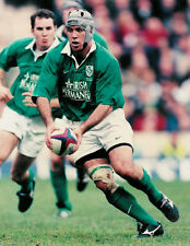 "Mike Mullins Ireland 20 Feb 2000 Rugby Photograph 8"" x 10"" (20cm x 25cm)"