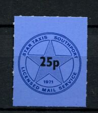 GB 1971 Star Taxis Southport Postal Strike 25p MNH Stamp #A29797