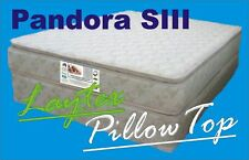 Queen Latex Pillow Top Mattress! 2 FREE PILLOWS** Now with Enhanced Pocket