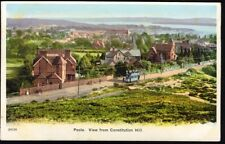POOLE: Panoramic View from Constitution Hill. Vintage Postcard. Free Post