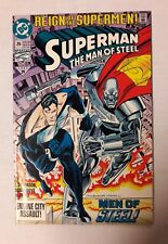 Superman The Man of Steel #26 Reign Of The Supermen 1993 NM UNREAD