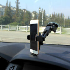 360° Cell Phone GPS Car Windshield Stand Mount Holder For iPhone Samsung