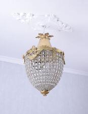 Deckenlampe Rokoko Lüster Kristall Lampe Deckenleuchte Shabby Chic