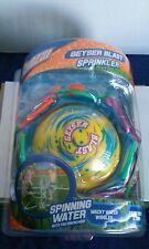 Banzai outdoor Fun In The Sun Geyser Blast spinning sprinkler water toy NEW