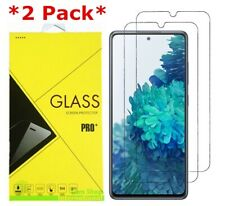 2-Pack Premium Tempered Glass Screen Protector For Samsung Galaxy S20 FE 5G