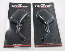 BIKEMASTER LEFT & RIGHT MOTORCYCLE MIRRORS, 60-0030 & 60-0031 NEW IN PACKAGE NIP