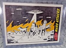 2012 TOPPS MARS ATTACKS 1/1 ARTIST SKETCH CARD ARTIST VG ONE OF ONE