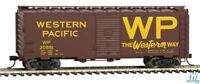 Walthers Mainline 9101685 HO scale 40' AAR 1944 Boxcar WESTERN PACIFIC #20551