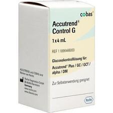 ACCUTREND Control Glucose Lösung 1X4ml PZN 111685
