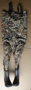 Hodgman belted  insulated boot camouflage Chest Wader, Size 8