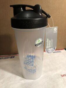 Blender Bottle Classic 28 oz Clear With Loop & Blenderball Brand New Bra Free