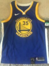 Kevin Durant authentic Blue Warriors Nike Jersey SZ xl/52 NWT free ship