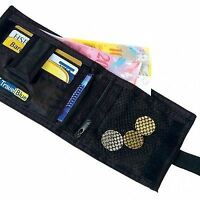 Secret Sliding Wallet Safe Travel Purse Belt Money Pouch + Lost & Found Service