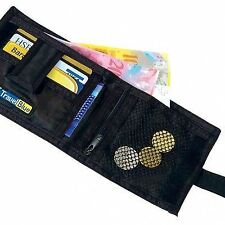 Secret Sliding Wallet Safe Travel Purse Belt Money Pouch + Lost & Found Service