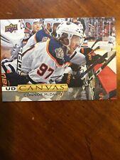 19-20 UD Series Hockey Canvas C84 Connor McDavid