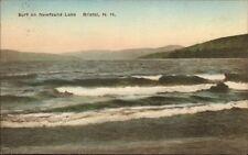 Bristol NH Newfound Lake Hand Colored Postcard