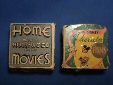 2 Vintage Disney Mickey Mouse Cartoon Films 1602-Z & Enterprise