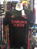 Adidas Real Madrid 3rd Kit 20-21 soccer jersey Black Pink Size L Men's Only