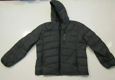 NAUTICA Mens Coat Navy Blue Ultra Light Down Jacket Quilted Puffer XL NEW