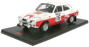 IXO18RMC024B - Car Of Rac Rally Of 1971 Ford Escort Mki Rs 1600 N°16 Équipag