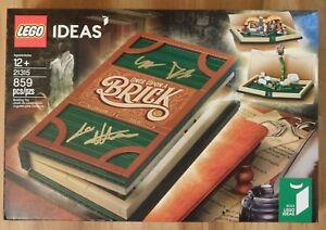 LEGO IDEAS 21315 Pop-Up Book Brand New and Signed by Creators in Hand!