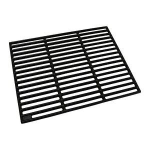 Grillrost Gusseisen Grillgitter Rost Grillplatte rechteckig emailliert 35x45 cm