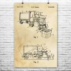 Garbage Truck Poster Print Waste Management Contractor Gifts Sanitation Worker