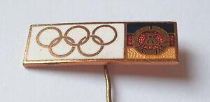 DDR Abzeichen Sportanstecknadel Olympische Spiele Teilnehmerabzeichen