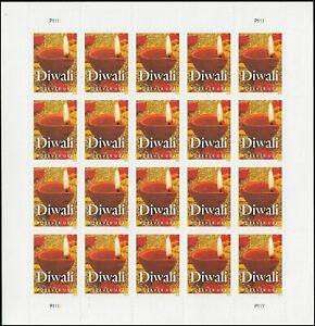 Diwali - Pane of (20) Forever USPS Postage Stamps Scott 5142 Hindu Holiday