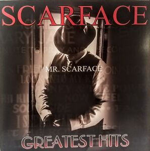 SCARFACE (The Rapper)-'Mr Scarface' Gr. Hits Poster Flat Suitable For Framing