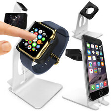 Orzly® Apple Watch iWatch 38mm 42mm 2in1 Stand Holder Docking Station (IN STOCK)