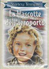 Dvd **LA MASCOTTE DELL'AEROPORTO** con Shirley Temple nuovo sigillato 1934