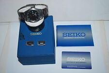 Original SEIKO Titanium Watch 7N43-OAC8 Quartz Works Fine Original Box Booklet